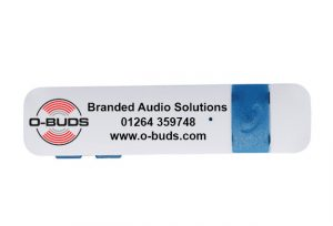 Bluetooth Adapter with O-Buds branding